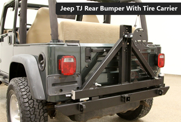Best Jeep TJ Rear Bumper With Tire Carrier